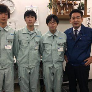 港南台第一中学校2年生職業体験